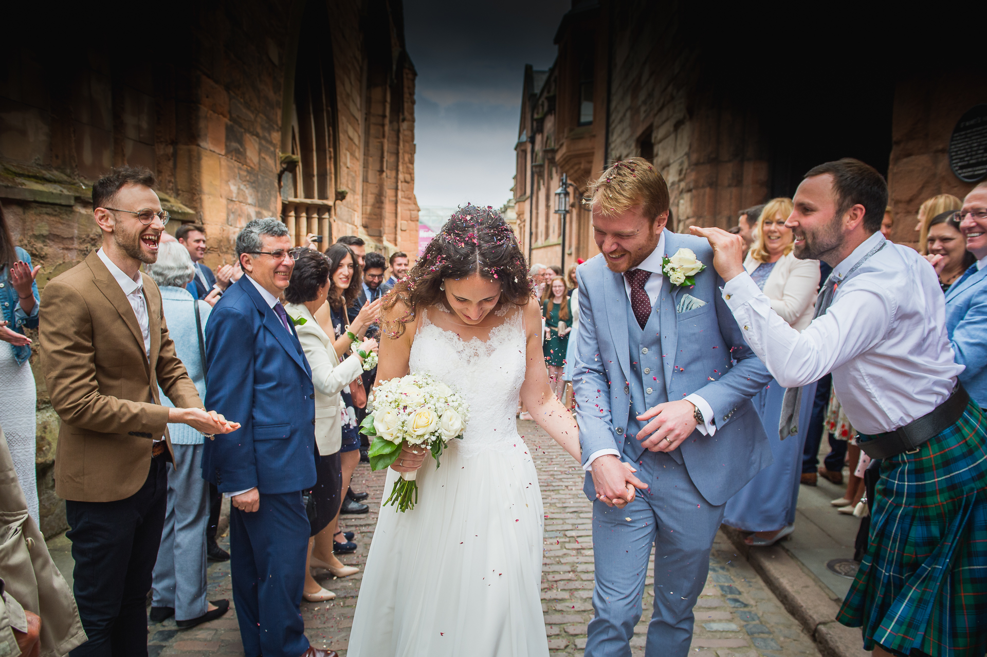 Wedding photography at St Marry Guild Hall, West Midlands
