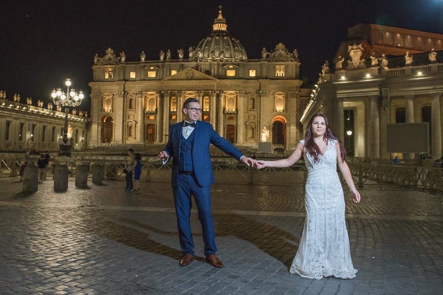 Aga & Wojciech, Rome, Italy