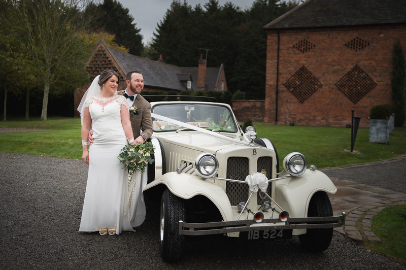 wedding car in Coventry