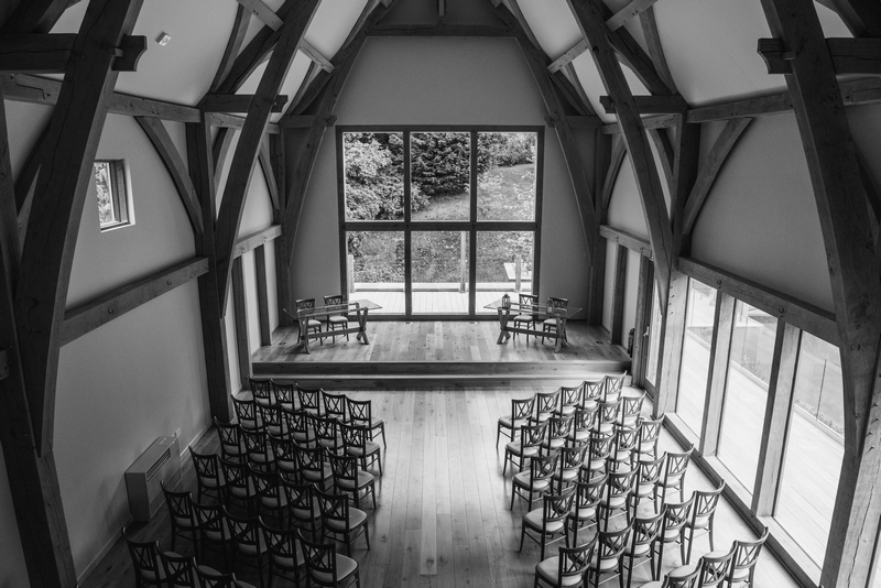 The Mill Barns - ceremony room - mk wedding photography