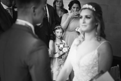 emotional wedding photos by wedding photographer based in west midlands