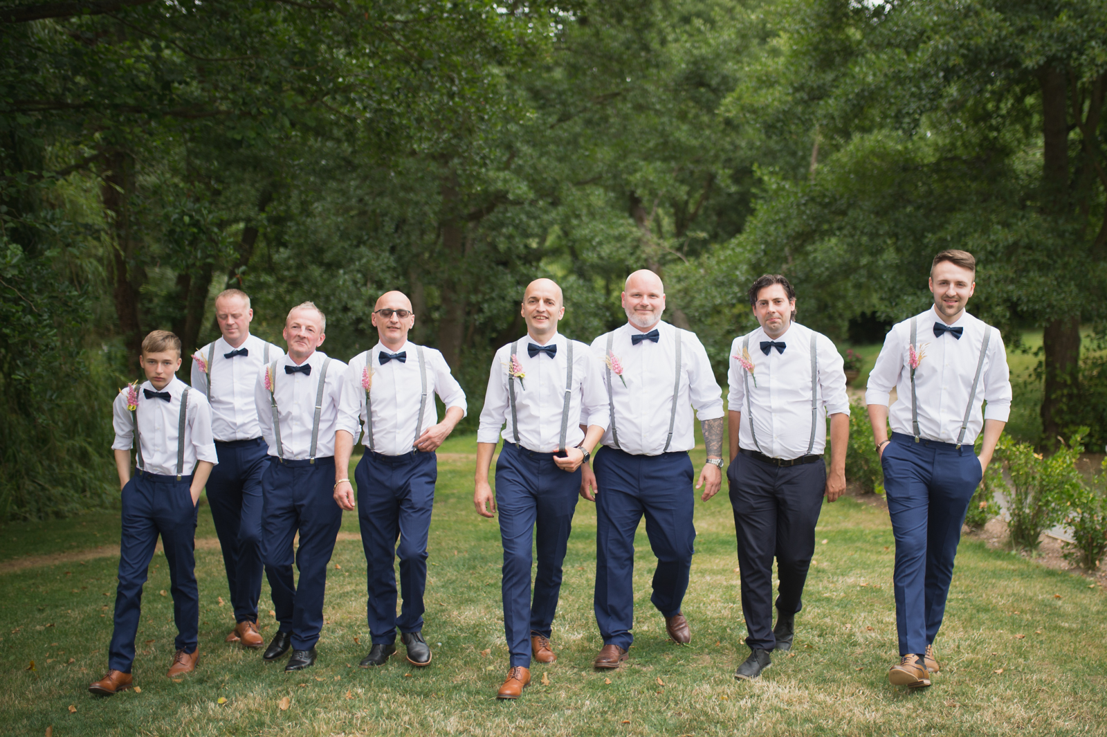 groom and best man by mk wedding photography