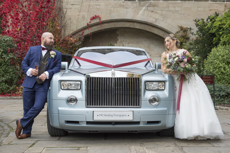 Rolls-Royce Phantom Wedding car by Mk Wedding Photography
