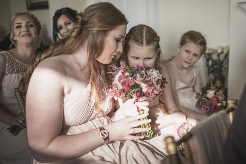 bridemaids at the shottle hall
