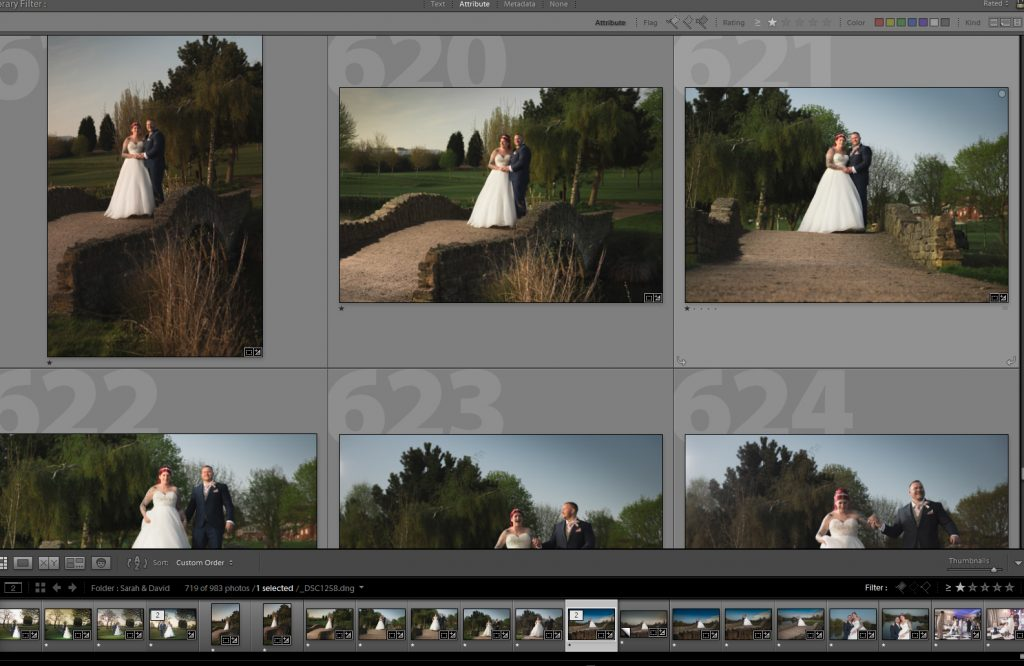 wedding photography behind the scene