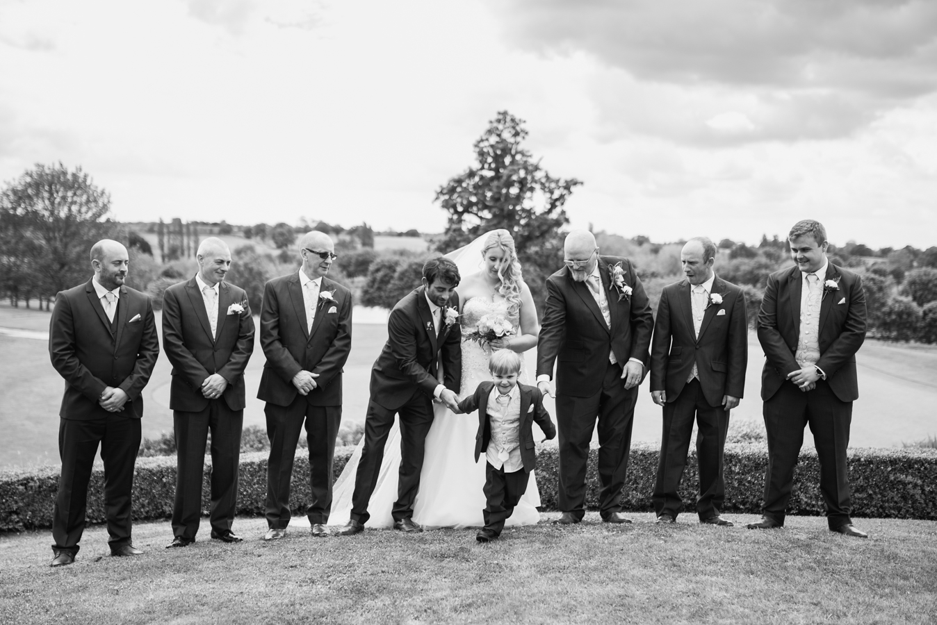 wedding photography, group photos