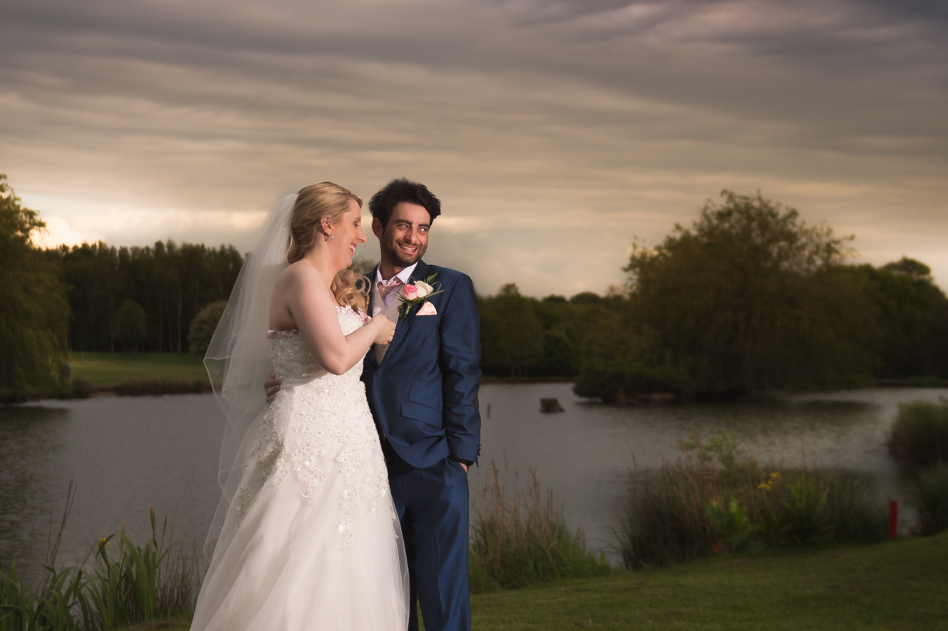 epic, natural and creative wedding photography in west midlands by mk wedding photography