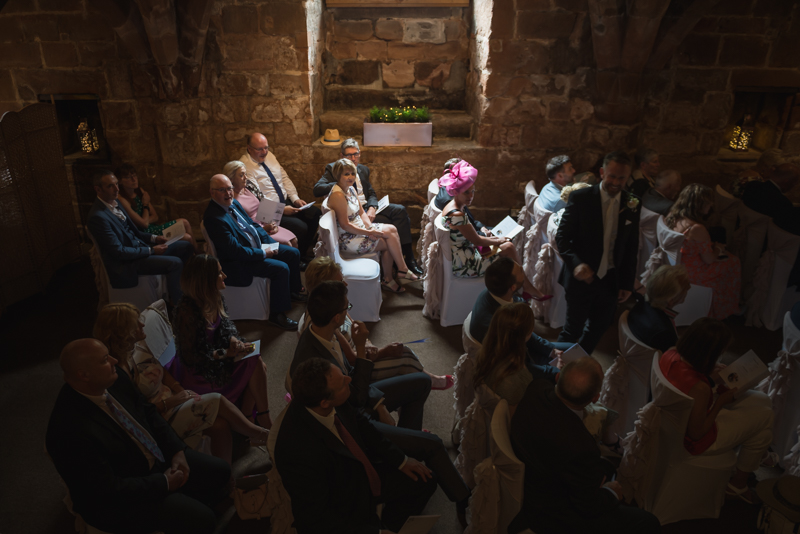 a wedding in a cellar St Mary's Guildhall in Coventry town centre by MK Wedding Photography