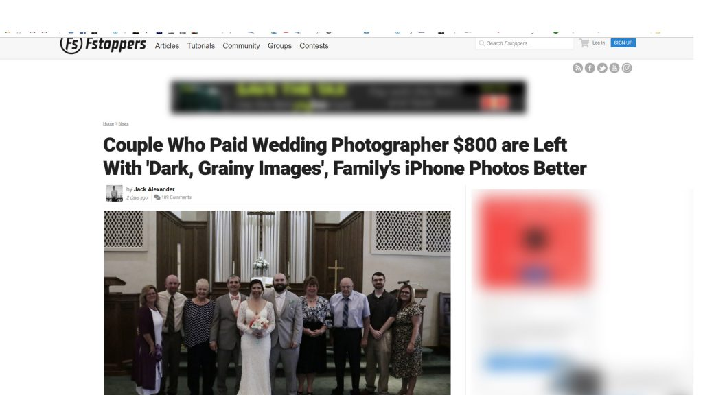 article, bad photos fstoppers