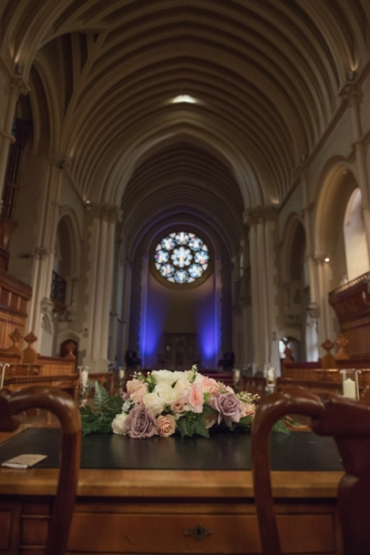 Stanbrook Abbey hotel wedding ceremony mk wedding photography