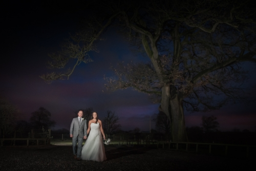 Creative wedding photography Oak Farm Cannock - mk wedding photography