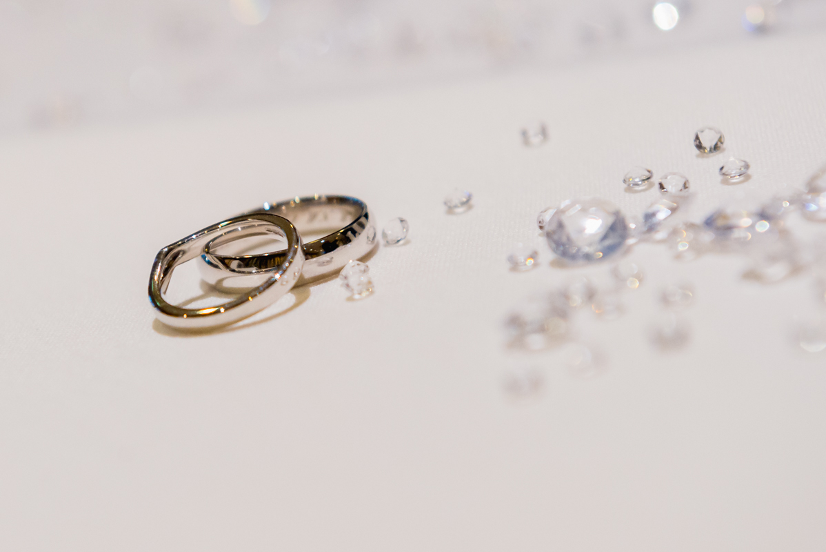 wedding rings by MK Wedding Photography