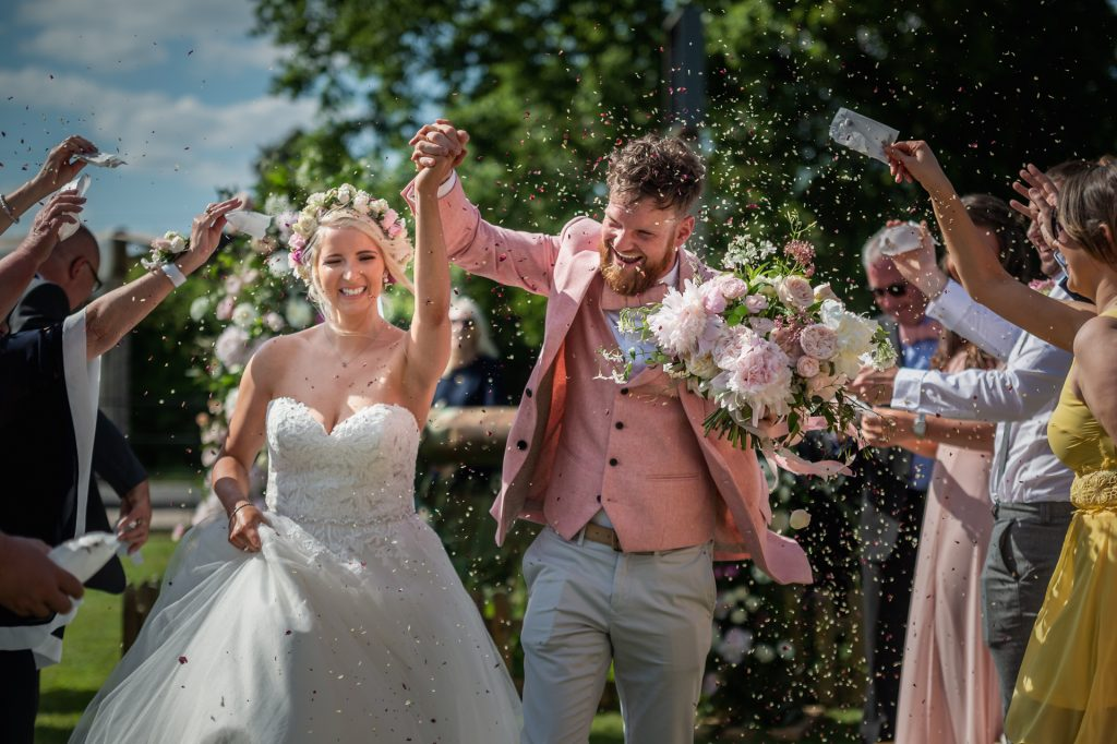 real wedding photo The Durham Ox